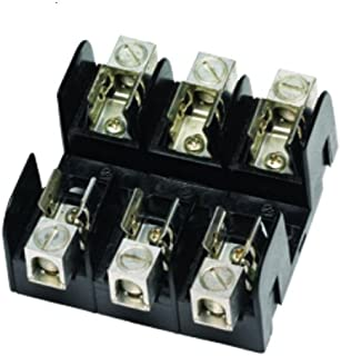 Mersen 60608T Amp-Trap Class T Recommended Fuse Block with Box Connector 31-60 Ampere 3 Pole 600V