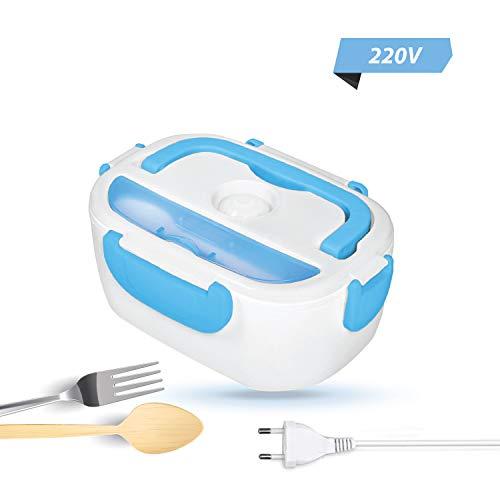 Elektrische Lunchbox - Warmhaltebox - Aufwärmen und essen im LKW, Auto oder Büro ohne Mikrowelle - Electric Lunch Box - Warmhaltebox elektrisch - Box