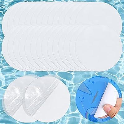 Amazon - 60% Off on Pool Patch Repair Kit Self-Adhesive Vinyl Repair Patch 30 Pieces Repair Pool Liner Patch