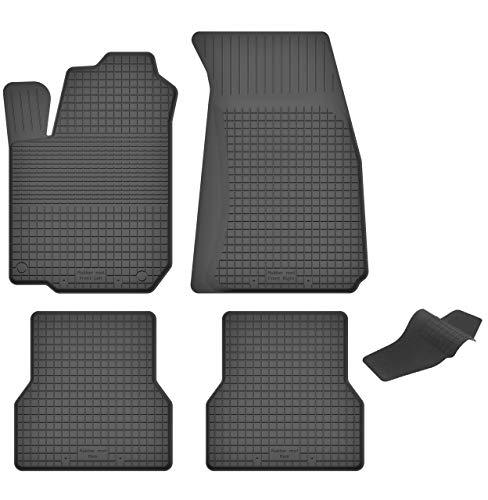 Tappetini PER RENAULT MEGANE 2 tipo M posteriore acciaio per Hatchback 3-PORTE 2002-2009 GRIGIO