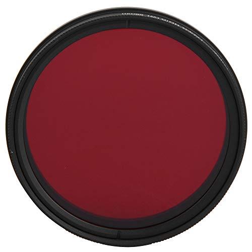 レンズフィルター、58 mm調整可能な光学赤外線レンズフィルター530-750 nmデジタル一眼レフカメラIR写真