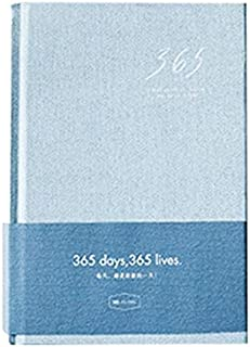 دفاتر الملاحظات - 388 صفحة من سلسلة 365 يوم 365 لايف، دفتر مذكرات ورقية وكتاب رسم وهدايا الكريسماس (A A5)