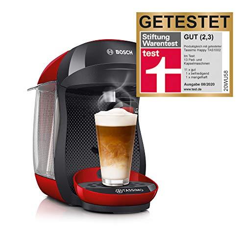 Bosch TAS1003 TASSIMO Happy Cafetera de cápsulas, 1400 W,