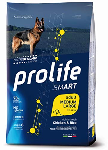 prolife Smart Pollo Fresco E Riso Adult Medium Large 12 kg