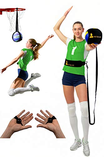 Regius Volleyball Training Equipment 3.0 - Premium Solo Trainer, Perfect for Beginners Practicing Serving, Setting and Spiking, Great Gift Idea …
