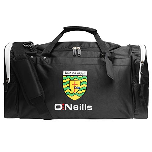 O'Neills Unisex Donegal GAA Holdall Black/White One Size