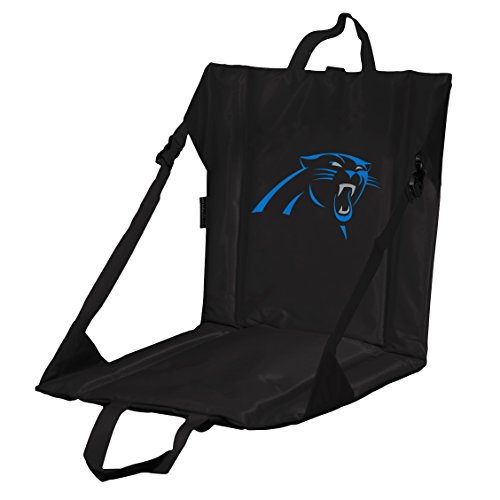 Logo Brands Officially Licensed NFL Carolina Panthers Unisex Stadium Seat, One Size, Team Color