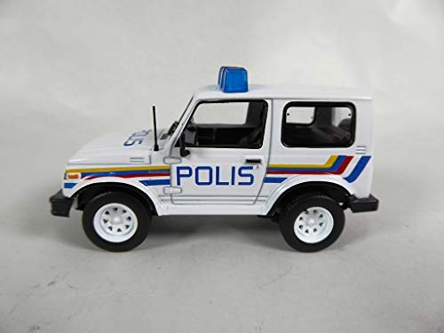 OPO 10 - Suzuki Samurai 1/43 World Police Car Collection - Mala (PM27)