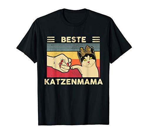 Beste Katzenmama Best Cat Mom Ever Katzenmotiv T-Shirt