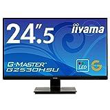 iiyama ゲーミング モニター ディスプレイ G2530HSU-B1 (24.5インチ/1ms/フルHD/TN/DisplayPort,HDMI,D-sub)