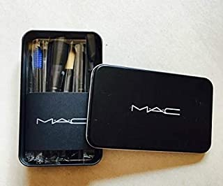 M.A.C Cosmetic Makeup Brush Set with Storage Box (Pack of 12)