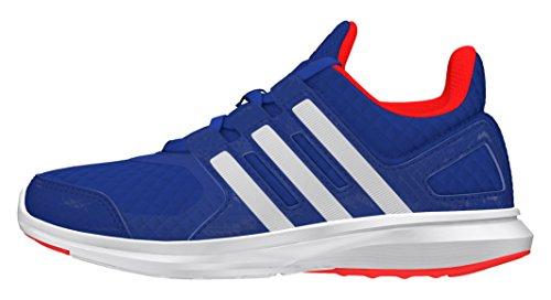 adidas Unisex Hyperfast 2.0 K Laufschuhe, Blau (Blau/Weiß/Rot), 38 2/3 EU
