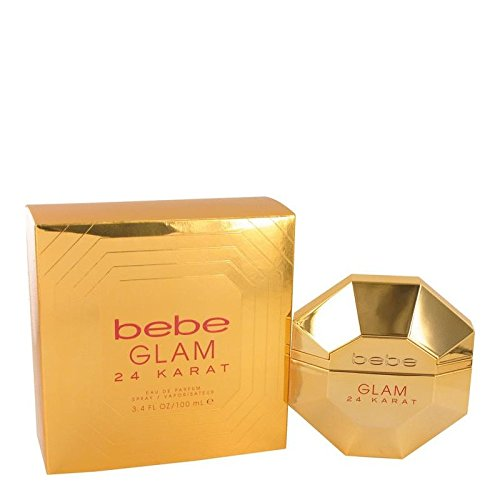 Price comparison product image Bebe Glam 24 Karat by Bebe Eau De Parfum Spray 3.4 oz for Women