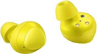 Samsung Galaxy Buds 2019, Bluetooth True Wireless Earbuds (Wireless Charging Case Included), (International Version) (Yellow)