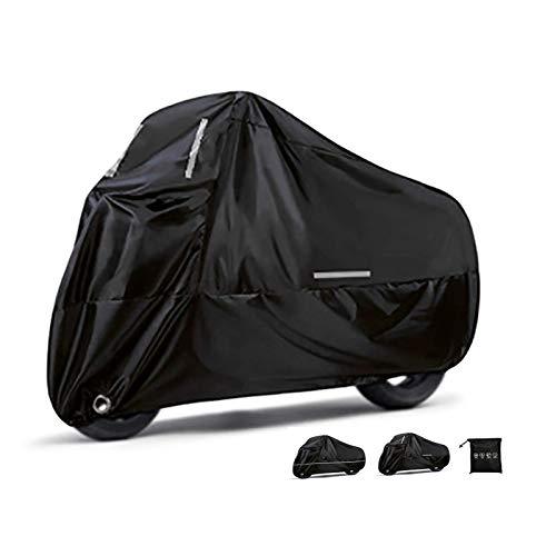 Fundas para motos Cubierta completa de la motocicleta compatible con la cubierta de la moto Yamaha Star Venture, la campana de motocicleta duradera impermeable impermeable con la tira reflectante