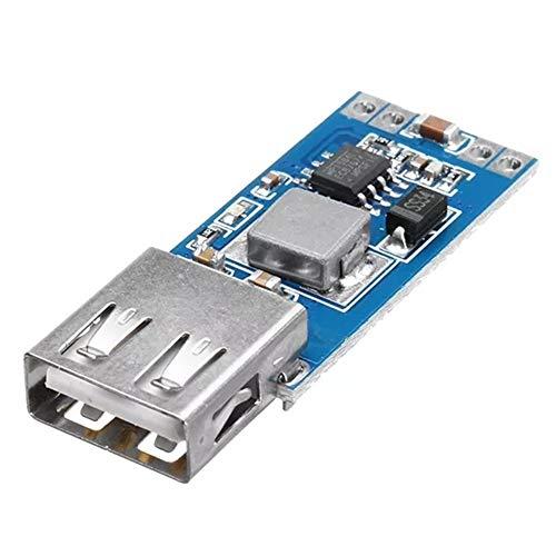 MANHONG Tarjeta DE Circuito Impreso Módulo CC-CC 7.5-28V a 5V 3A 9V / 12V / 24V / 28V a 5V Step-Down módulo de alimentación del teléfono Celular Cargador de Coche USB Regulador Buck, fiable