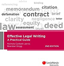 Best effective legal writing a practical guide Reviews