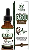 Organic Ear Oil for Ear Infections - Natural Eardrops for Infection Prevention, Swimmer's Ear & Wax Removal - Kids, Adults, Baby, Dog Earache Remedy - Mullein, Garlic, Calendula Made in USA