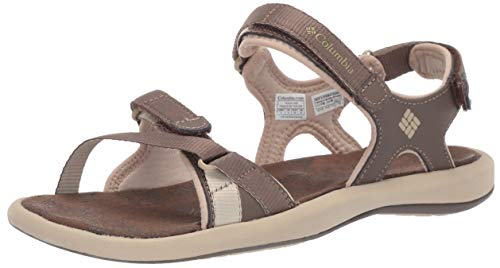 Columbia Femme Sandales, KYRA III, Taille 37, Brun (Mud, Ancient Fossil)
