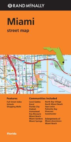 Folded Map: Miami Street Map (Rand Mcnally Street Map)