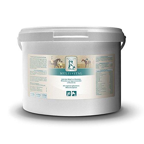 Mühldorfer Multivital, 10 kg, Ergänzungsfutter mit wichtigen Vitaminen, Mineralien und Spurenelementen, Ergänzungsfutter für Pferde und Ponys