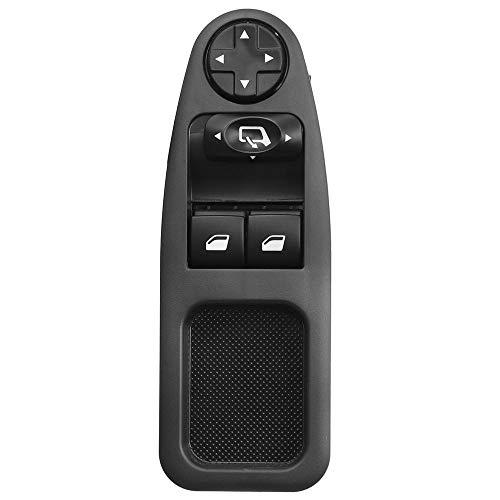 Botón de interruptor de ventana eléctrico de coche de 13 pines apto para Fiat Scudo apto para Citroen Dispatch Jumpy Fit para Peugeot Expert 2007-2016 6554.ZJ 6554ZJ