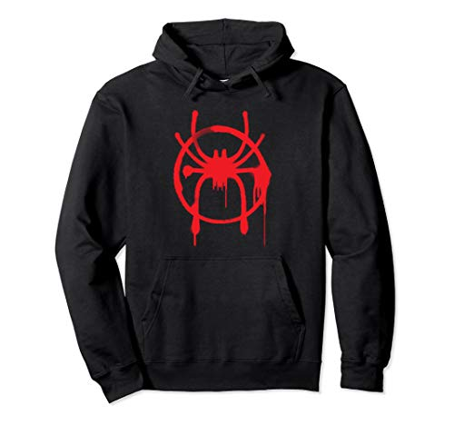 Marvel Spider-Man Into the Spider-Verse Miles Morales Hoodie