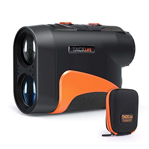 TACKLIFE Golf Rangefinder 600 Y,Adjustable Eyepiece,6X Magnification with...