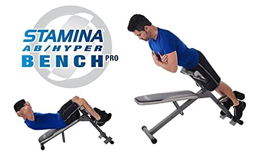 Stamina Pro Ab/Hyper Bench