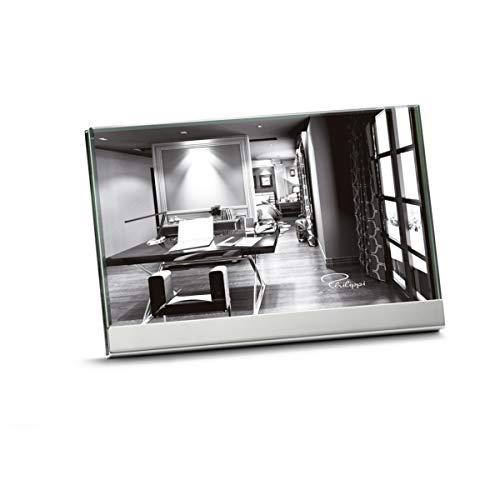 Philippi Room Rahmen, 10 x15 cm Nickel, hochglanzpoliert, 10mm Glas