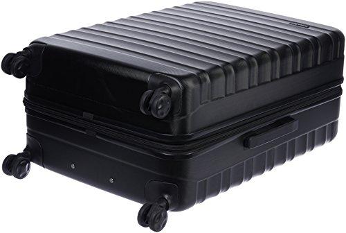 AmazonBasics 78 cm Black Hardsided Check-in Trolley