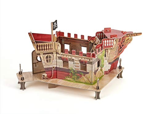 Papo Pirate Fort Playset  Multicolor