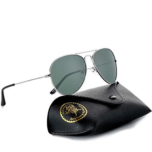 Rocf Rossini Gafas de Sol Aviador para Mujer Gafas Polarizadas Retro de Hombre con Protección UV400 para Pescar Conducir Playa