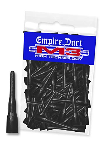 Empire Dart Softdartspitzen - M3 - lang - schwarz - 100 Stück