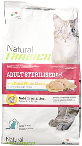 TRAINER Natural frischen weißen Fleisch sterilisiert 1,5kg Katzen Trockenfutter