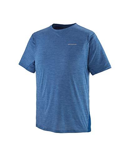 Patagonia M's Airchaser - Maglietta da Uomo, Top Blue-Light Superior Blue X-Dye, S
