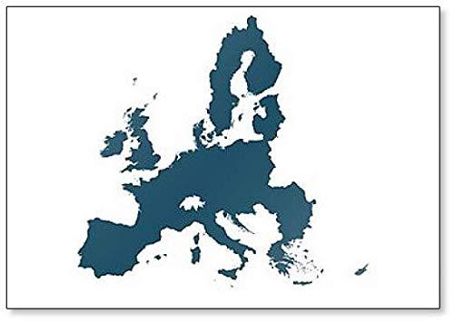 Kaart van de Europese Unie Koelkast Magneet