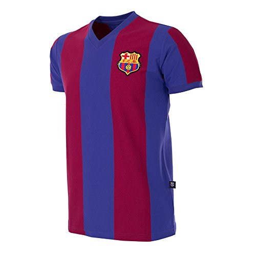 Copa Football - Camiseta Retro FC Barcelona 1976-1977 (XL)
