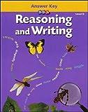 Reasoning and Writing: Answer Key, Level D, Grades 4-8