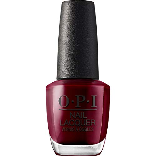 OPI Nail Polish, Nail Lacquer, Malaga Wine, Red, 0.5 Fl Oz