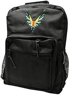 Maverick by Logan Paul Black Backpack For Unisex