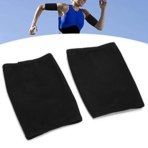 Pwshymi Workout Body Shaper Práctico 1 par de recortadores de Brazos Banda para el Sudor para Uso Profesional para Uso doméstico(2 Pieces (XL))