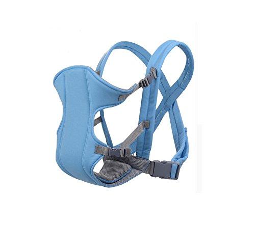 Marsupio ergonomico per trasportare il tuo bambino - Marsupio neonato comodo realizzato con materiali di alta qualità - Marsupio bimbo regolabile secondo la grandezza del tuo bambino. (D) Bordò)