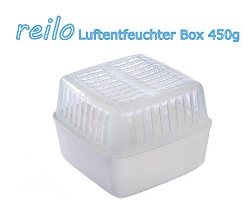 5x 1l Raumentfeuchter Box mit 450g Luftentfeuchter Granulat im Vliesbeutel
