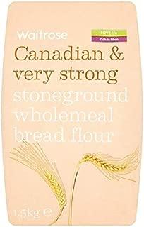 Very Strong Canadian Wholemeal Flour Waitrose 1.5kg