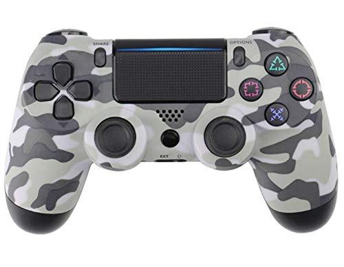 ZUKN Wireless Controller, Wireless Game Handle Game Controller mit Vibration Fire Button Reichweite bis zu 10m Support-PC (Windows XP / 7/8 / 8.1/10) und PS4, Android, Vista,Camouflage
