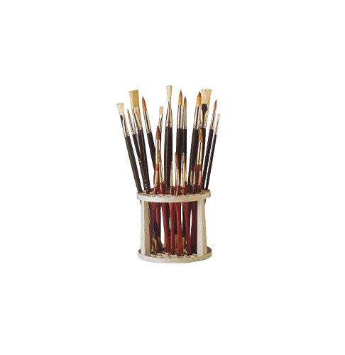 Cornici Paglia Porta pennelli in plastica MyArte 13x14,3 cm - Porta PENNELLI, PLASTICA, 14X13 CM