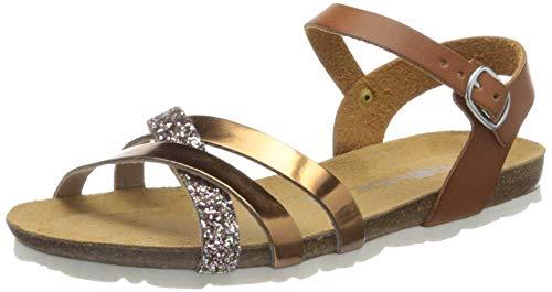 Rohde 5482 Asti Damen Sandalen Sandaletten Weite G, Schuhgröße:42 EU, Farbe:Braun