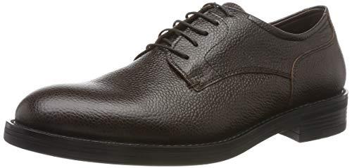Stonefly Carnaby Calf Print, Zapatos de Cordones Derby para Hombre, Marrón (Mocha Brown 330), 41 EU