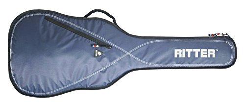 Ritter RGP2-D ACUS - Funda/estuche para guitarra acustica-clasica, con tejido repelente al agua, color azul